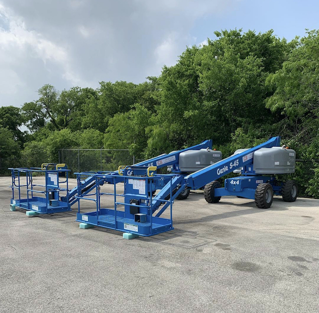 Genie Boom Lift CIE Lifts San Antonio Rental Sales