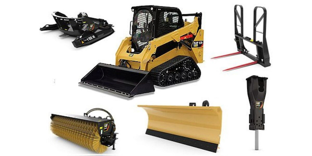 skid-steer-attachments sales and rentals